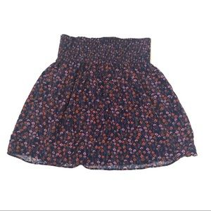 Mossimo floral circle skirt size small